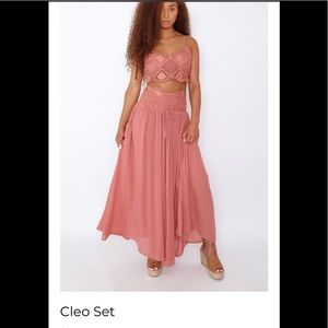 2 piece Cleo set from Ooh La Luxe